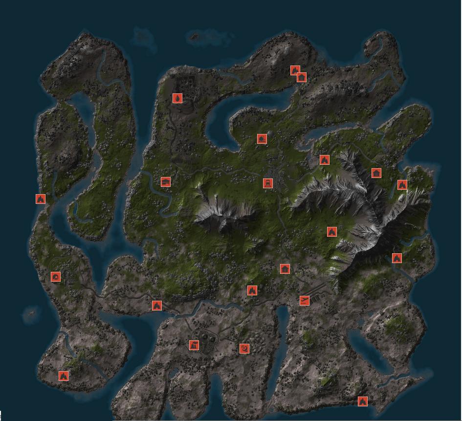 Как в расте сделать карту 966